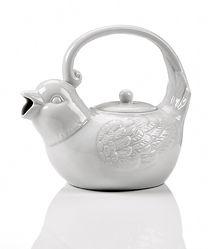 Ceramic Teapot Bird