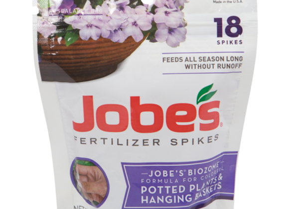 Jobe's Potted Plant & Hanging Basket Fertilizer Spikes (18)