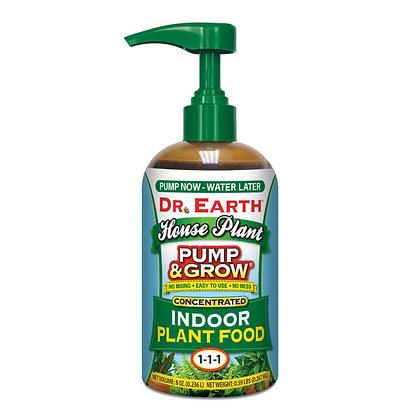 Dr Earth Pump & Grow Indoor Plant Food 1-1-1