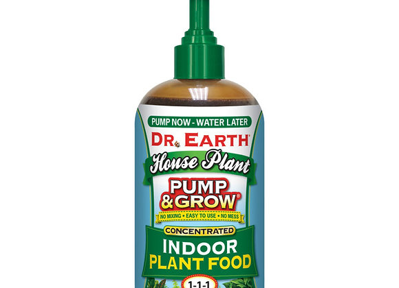 Dr Earth Pump & Grow Indoor Plant Food 1-1-1