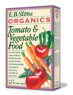 EB Stone Tomato & Vegetable Food 4-5-3 (4lb bag)
