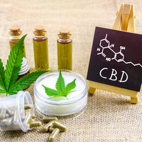 Full spectrum CBD and THC cannabis oils,