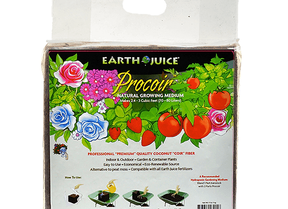 Earth Juice Procoir Natural Growing Medium (11lb)