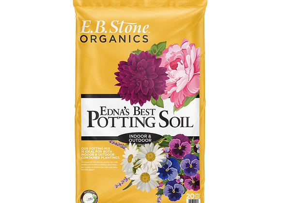 EB Stone Edna's Best Potting Soil (20 qt bag)
