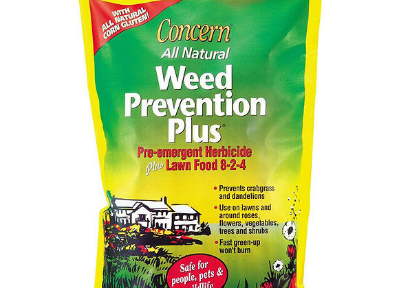 Concern Weed Prevention Plus Pre-Emergent Herbicide & Lawn Food