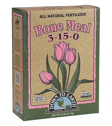 Down to Earth Bone Meal 3-15-0 (5lb box)