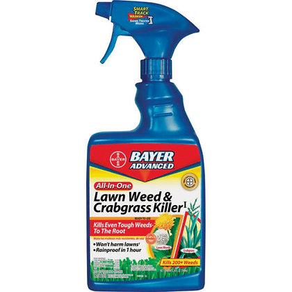 Bayer Advanced Lawn, Weed & Crabgrass Killer RTU (24oz)