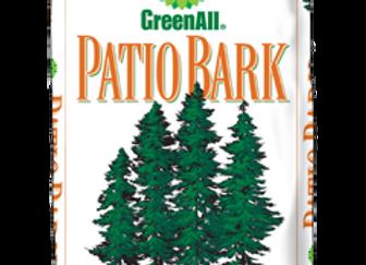 GreenAll Patio Bark - Medium (2 cf bag)