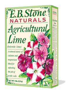 EB Stone Agricultural Lime (5lb box)
