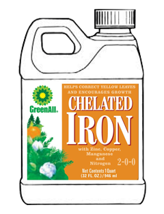 GreenAll Chelated Iron 2-0-0 (1qt)