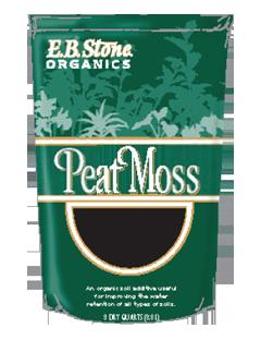 EB Stone Peat Moss (8 qt bag)