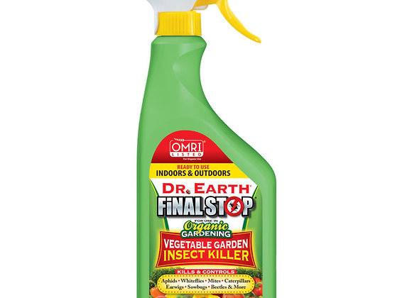 Dr Earth Final Stop Vegetable Garden Insect Killer RTU