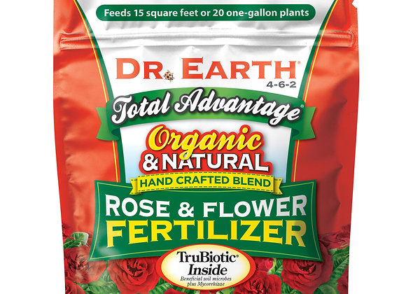 Dr Earth Rose & Flower Fertilizer (1lb bag)