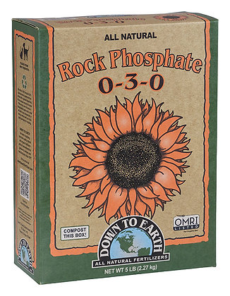 Down to Earth Rock Phosphate 0-3-0 (5lb box)