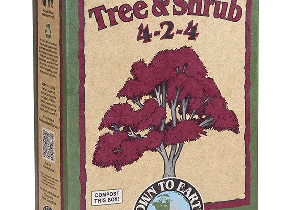 Down to Earth Tree and Shrub 4-2-4 (5lb box)