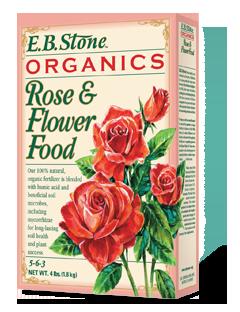EB Stone Rose & Flower Food 5-6-3 (4lb bag)