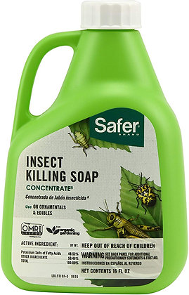 Safer Brand Insect Killing Soap Concentrate (16oz)