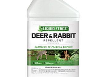 Liquid Fence Deer & Rabbit Repellent Concentrate (40oz)