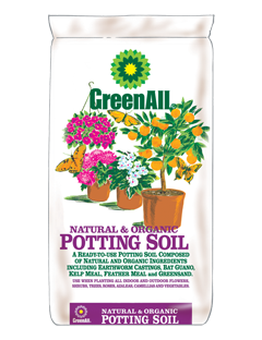 GreenAll Organic Potting Soil (2 cf bag)