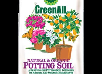GreenAll Organic Potting Soil (8 qt bag)