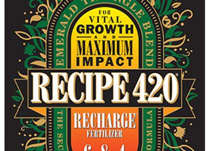 Recipe 420 Recharge Fertilzer 6-8-4 (4lb)