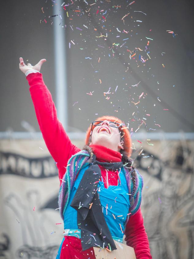 Zany Umbrella Circus