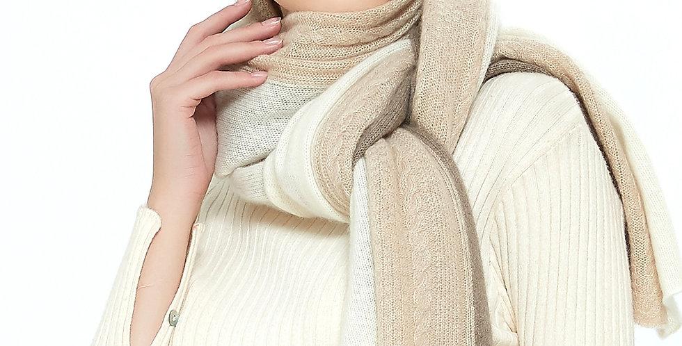 Ultra Soft Pure Cashmere Wrap - Noisette