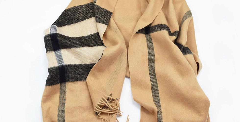 Large Scottish Wool Shawl / Wrap