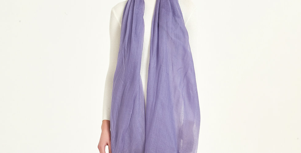 Luxurious Featherlight Cashmere Scarves / Shawls - Lavender