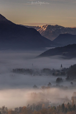 Brouillard sur la Chartreuse