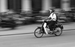 Going to work, Vietnam