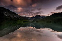 Lac de Tignes, Savoie