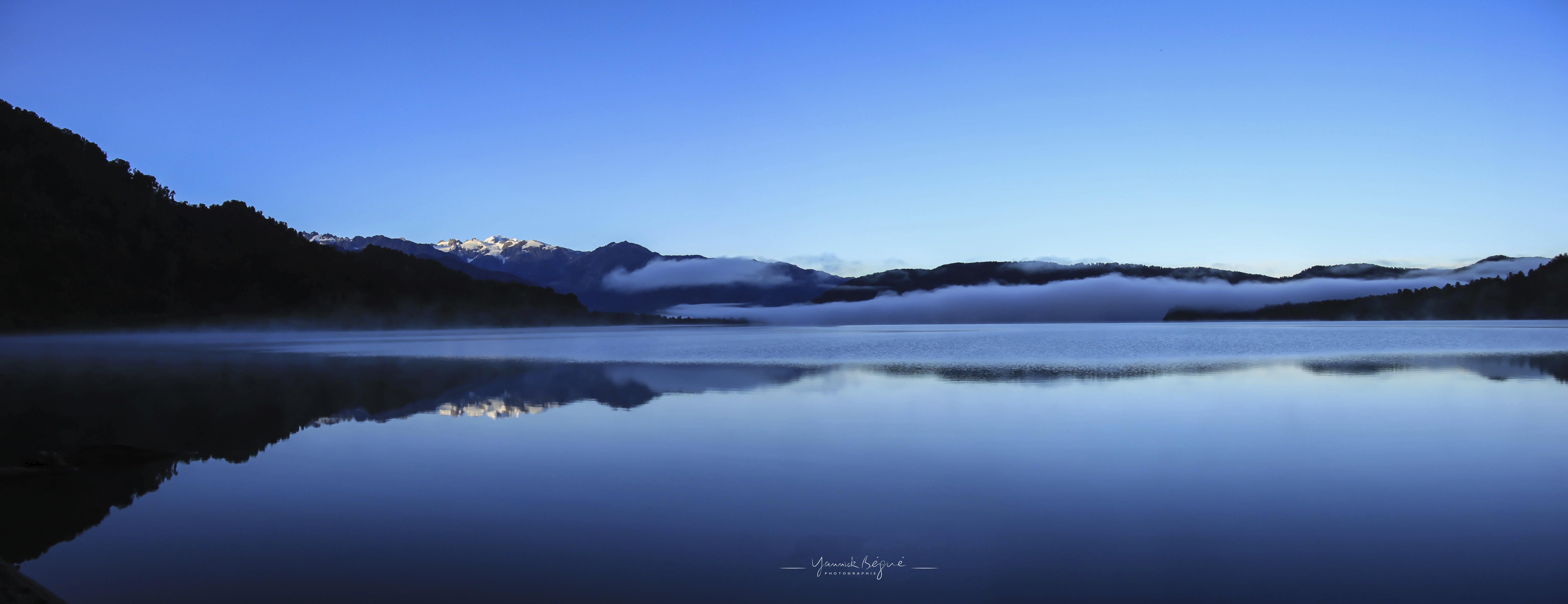 Lake moeraki, Nouvelle Zélande