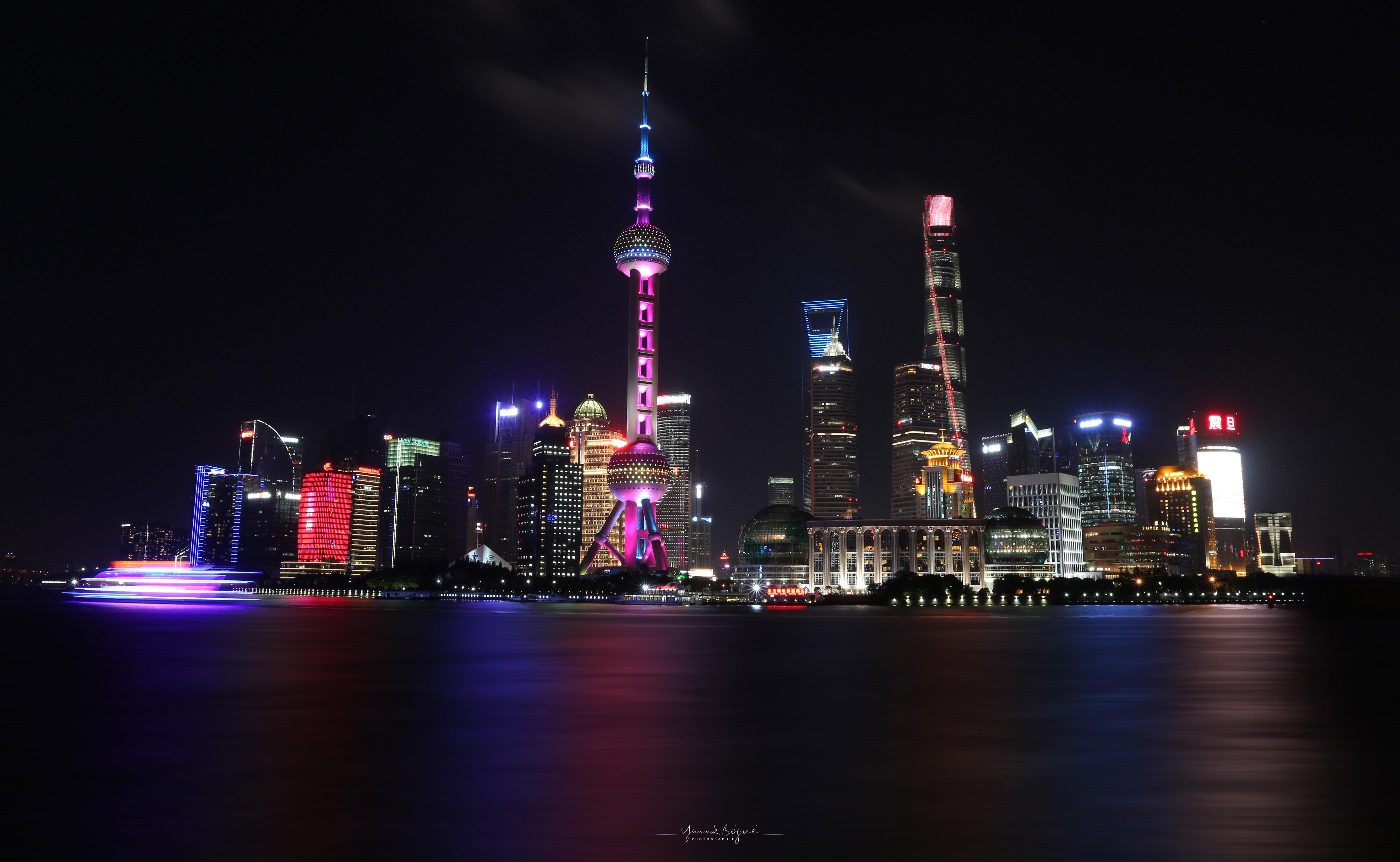 Shanghaï Pudong Island