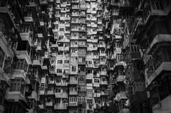 Old flat, Quarry Bay, Hong Kong