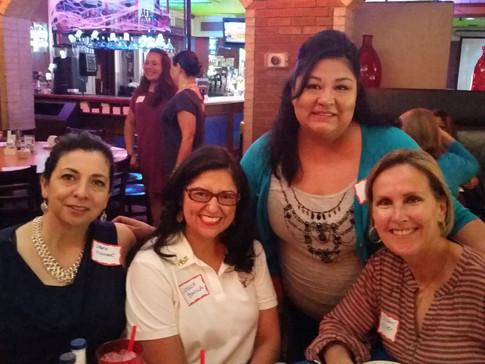 Hispanic Women's network Coffee With Shi