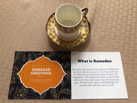 Happy Ramadan to Our Muslim Brothers & Sisters