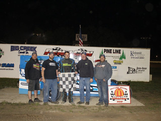 ALAN BARKER GOES BACK TO BACK AT PENN CAN SPEEDWAY