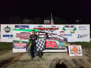 COREY CORMIER SNAGS FIRST CAREER MODIFIED WIN AT PENN CAN SPEEDWAY