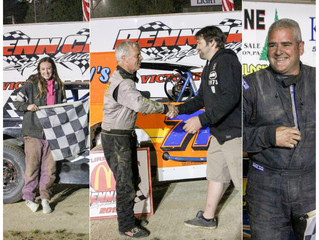 ALAN BARKER GETS FIRST CAREER PENN CAN SPEEDWAY VICTORY