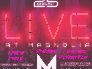 Live @ Magnolia Tickets Birmingham, Alabama August 25th, 2017
