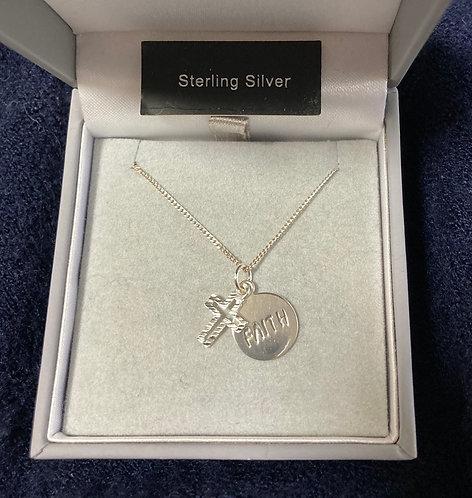 Silver Cross Necklaces
