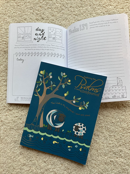Creative colouring journal - Psalms