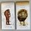 Thumbnail: Magnetic notepad, endangered collection, lion, orangutan