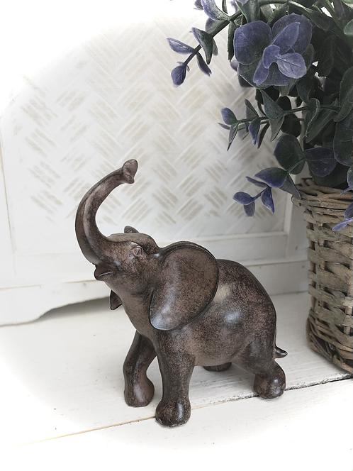 Elephant Standing Ornament