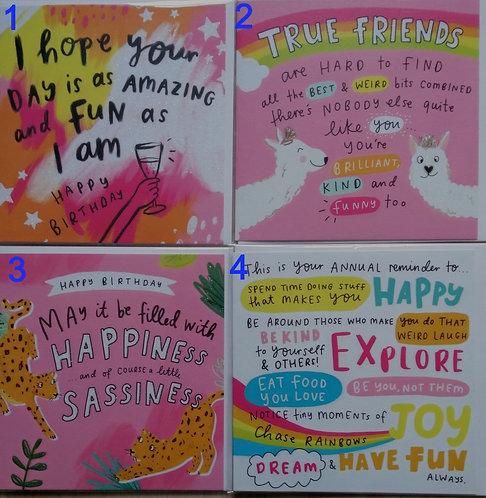 Bright Birthday Card