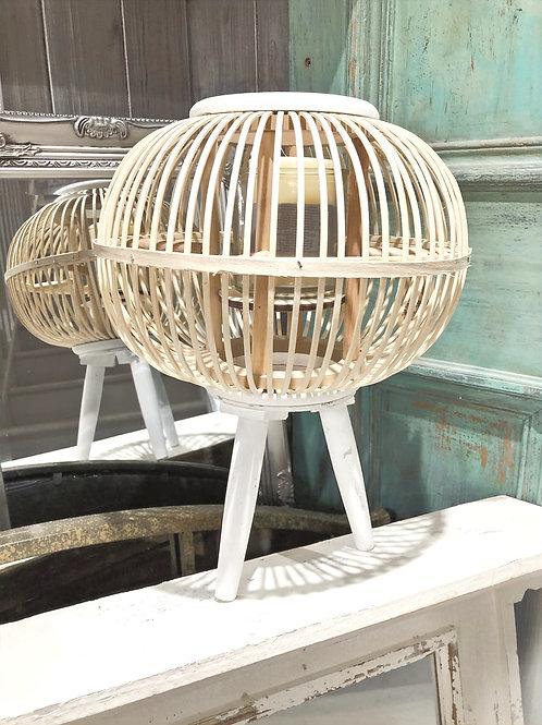Round Tripod Bamboo Lantern
