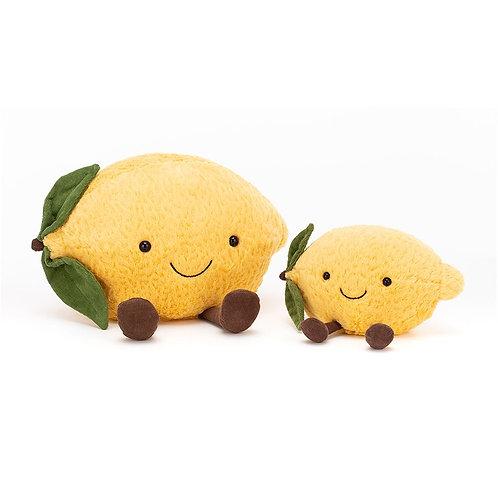 Lemon Amuseable Jellycat - Medium