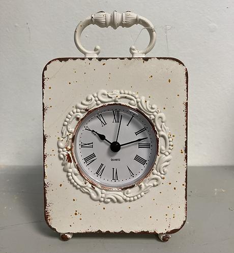Cream carriage clock