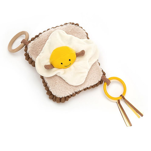 Egg on Toast activity toy